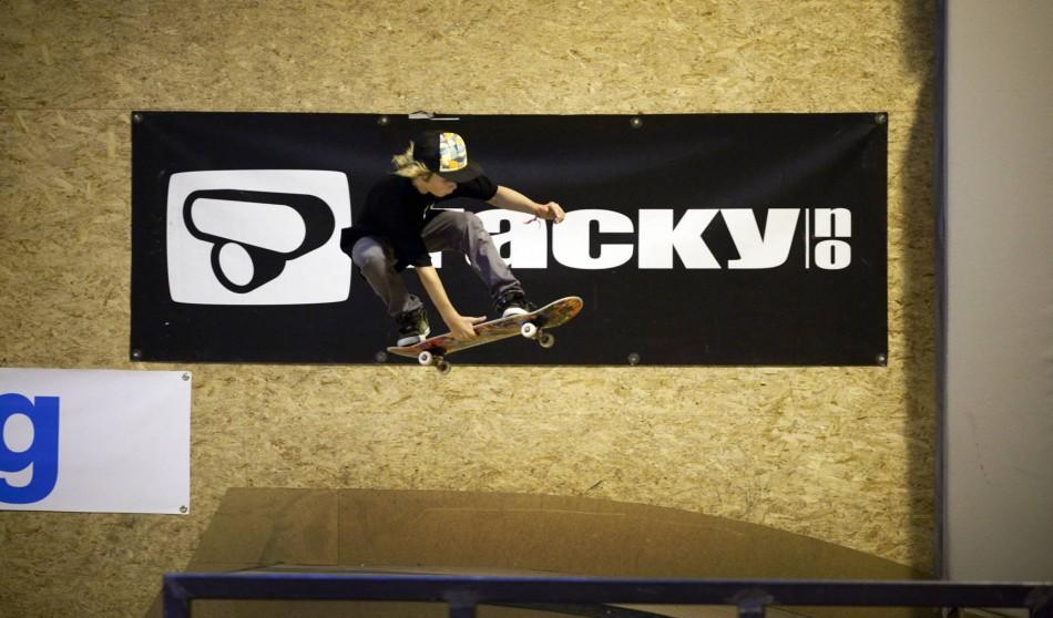 NM i skateboard i fysak hallen på Slettebakken. Foto: Bjørn Erik Larsen/Bergens Tidende